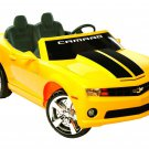 NPL Chevrolet Racing Camaro 12v Car WOW! - Yellow - NPL0820