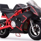 MotoTec Cali 36v Electric Pocket Bike - Red - Battery Powered - MT-EP-Cali_Red