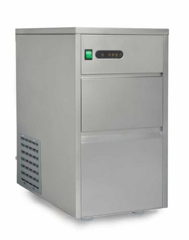 Sunpentown 44 lbs Automatic Stainless Steel Ice Maker - IM-440C