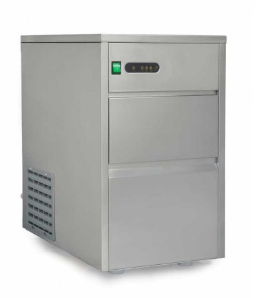 Sunpentown 110 lbs Automatic Stainless Steel Ice Maker - IM-1108C
