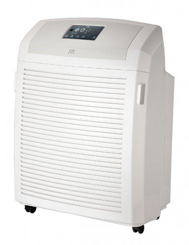 Sunpentown Heavy Duty Air Cleaner with HEPA, Carbon, VOC & TiO2   - AC-2102