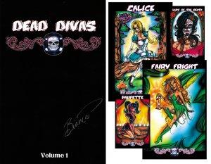 Dead Divas Pin Up Book Vol. 1