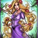Rapunzel Print