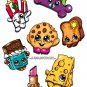 Shopkins 7pc Sticker Set