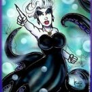Disney URSULA The Little Mermaid Poster Print Signed by Bianca Thompson