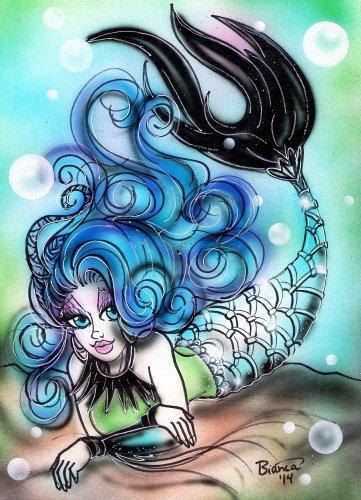 Sirena Von Boo Print