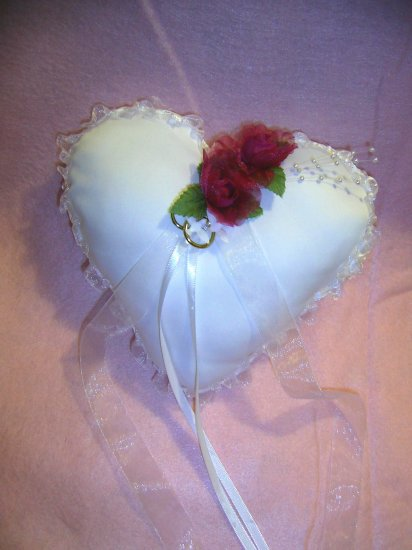 Sweetheart Ring bearer Pillow
