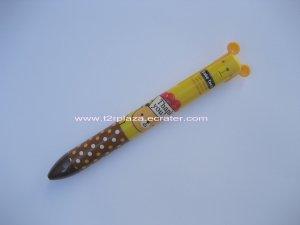 Babe Face Animal Double Colour Ballpoint Pen - BP110002 - Bear