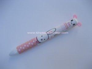 Babe Face Animal Double Colour Ballpoint Pen - BP110002 -Rabbit