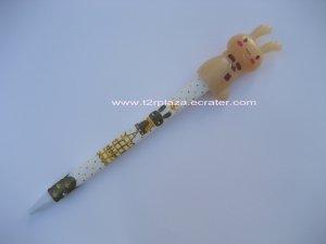 Cute Rabbit Ballpoint Pen - BP11001 - Coffee