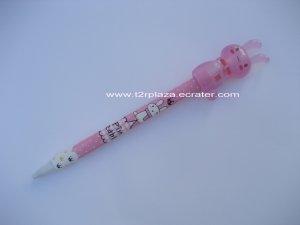 Cute Rabbit Ballpoint Pen - BP11001 - Pink