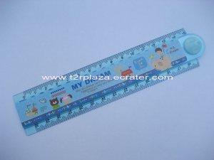 Happy Together Folding Multipurpose Ruler - RL110001 - Blue