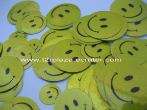 Good Value Glittery Smiley Face Stickers Set - SK0002