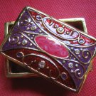 Elegant miniature trinket/jewellery box-brand new-rectangle