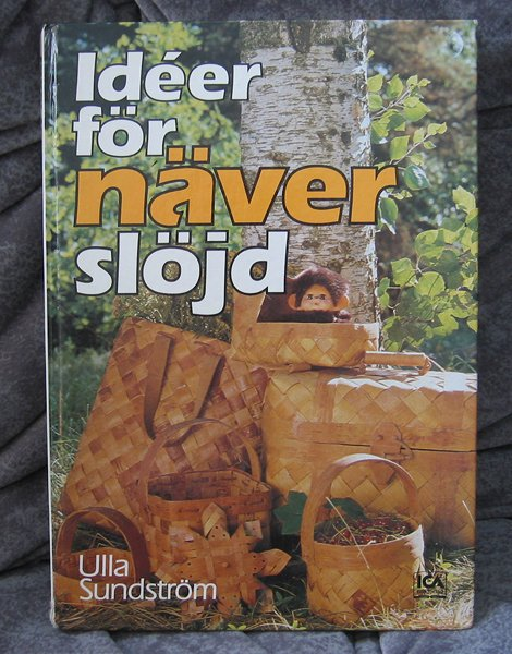 Swedish book about Birch bark Handicraft - Ulla Sundstrom