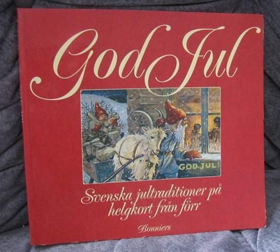 Old Christmas Traditions on Christmas CARDS book Swedish