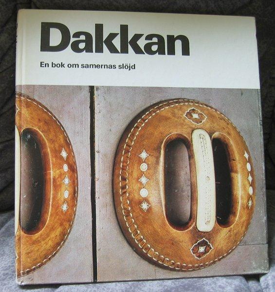 "SAMI/Laplander's handicraft ""Dakkan"" - book Swedish"