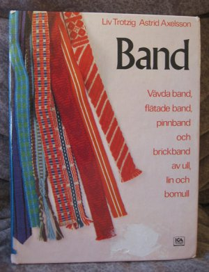 Swedish book WEAVING BANDS - Trotzig Axelsson