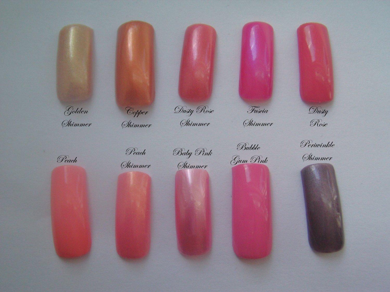 SALE! Plain Color Tips In Light Colors