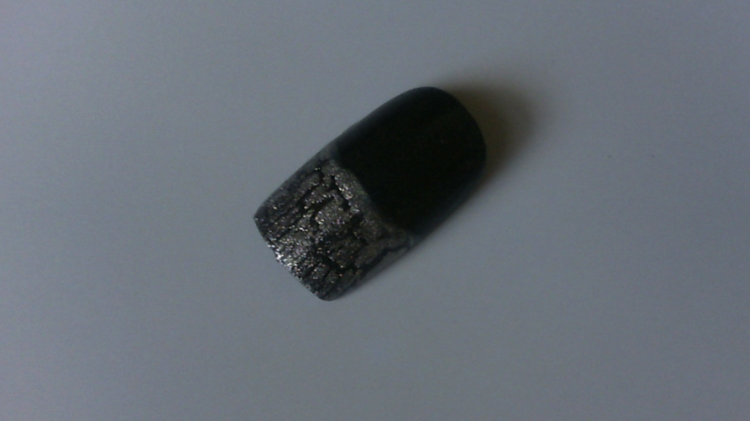 SALE! Gun Metal with Silver Crackle French Set