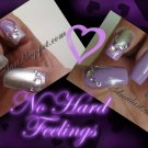 SALE! Lilac & Silver Crackle Set