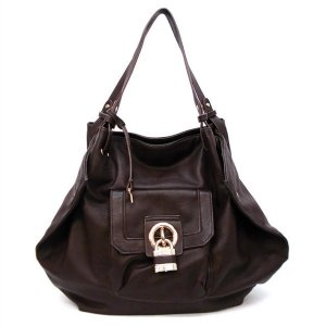 LYNN TOTE HANDBAG IN BROWN