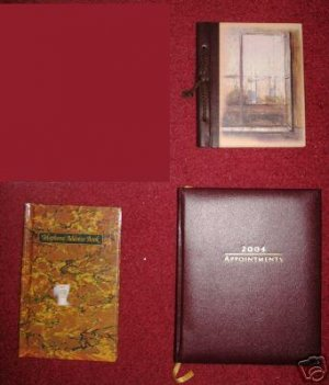 Greeting Cards Notes Appointments Address 3 Books Lots