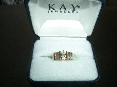 Timeless Complete Interlocking Diamond Wedding Set - Kays