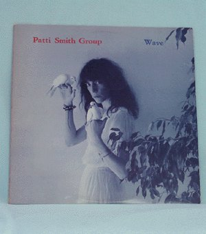 PATTI SMITH Wave LP 1979 Arista