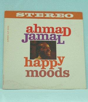 AHMAD JAMAL Happy Moods LP ARGO 662 mono
