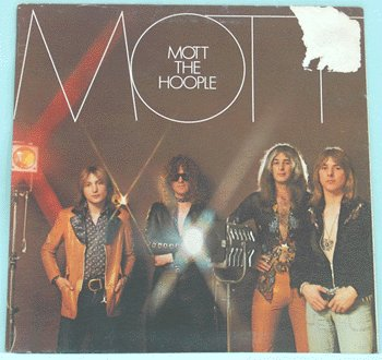 MOTT THE HOOPLE Mott LP 1973 IAN HUNTER