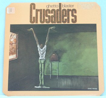 CRUSADERS Ghetto Blaster LP 1984 VG