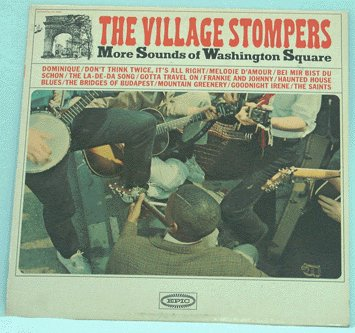 VILLAGE STOMPERS LP More Sounds of Washington Square
