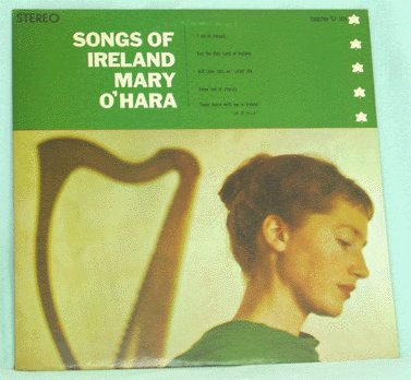 MARY O'HARA LP Songs of Ireland 1958 on Everest