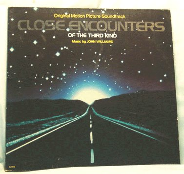 CLOSE ENCOUNTERS of the THIRD KIND Soundtrack LP 1977