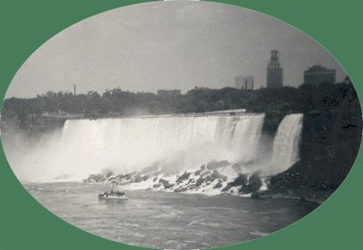 Vintage Photo MAID OF THE MIST 1950 Niagra Falls