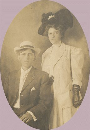 Vintage Photo CABINET CARD Couple in GLOVES/HATS 1890s