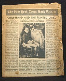 1946 NYT BOOK REVIEW Children's Vintage GOLDEN LGB
