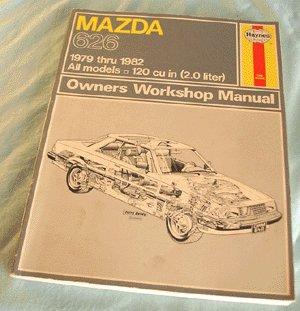 HAYNES MANUAL Mazda 626 1979-82 Car ALL MODELS