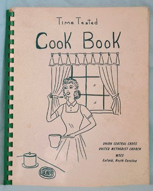 Vintage COMMUNITY COOKBOOK Time Tested METHODIST CHURCH