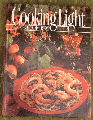 1993 COOKING LIGHT Cook Book COOKBOOK