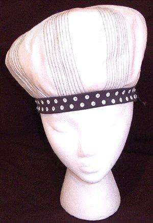 Vintage EMME BOUTIQUE Rhinestone 1960s Hat FRANK OLIVE
