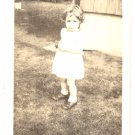 1944 Vintage Photo TODDLER Joan 20 Months CUTIE