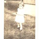 1944 Vintage Photo TODDLER Joan 20 Months CUTIE