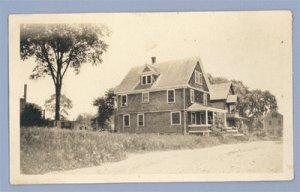 Vintage Photo OLD A-FRAME HOUSE circa 1930s