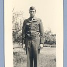 Vintage Photo Miniature 1950s SOLDIER in UNIFORM