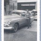 Vintage Photo BUICK SUPER Classic Car 1952 HAWAII