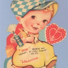 Vintage Valentine SODA POP Mechanical MOVING Card