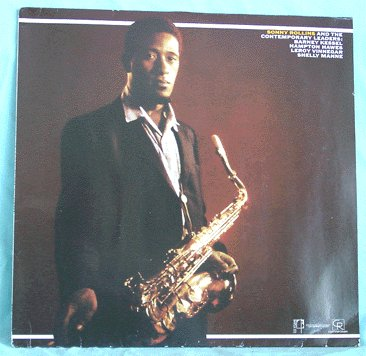 SONNY ROLLINS LP Contemporary Leaders 80s press NM jazz