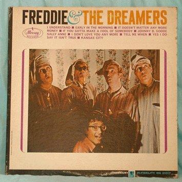 FREDDIE & THE DREAMERS LP 1965 If You Gotta Make a Fool